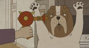 Merci mon chien (It's a Dog's Life) - кадр из мультфильма
