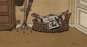 Merci mon chien (It's a Dog's Life) – кадр из мультфильма